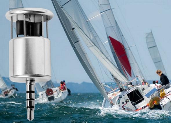 Smartphone windmeter meet wind, temperatuur en RV met je telefoon