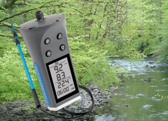 Water en wind meetset voor metingen in lucht en vloeistoffen