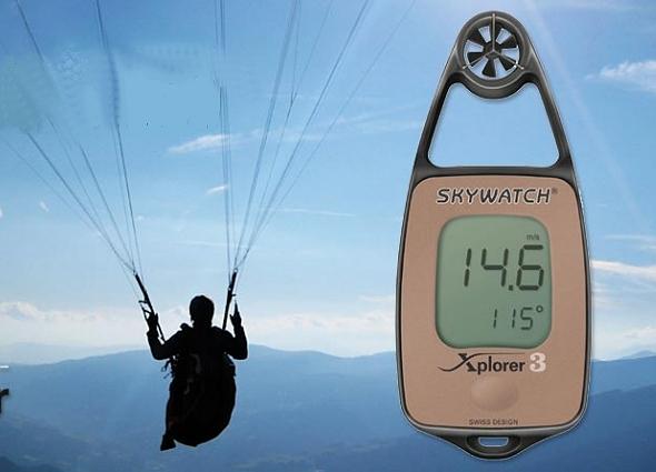 Handwindmeters voor windsnelheid of ook temperatuur, RV, luchtdruk en  hoogte