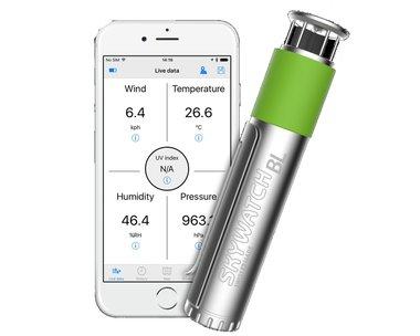 JDC Skywatch BL400 smartphone windmeter